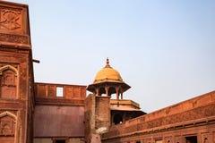 Czerwony fort lokalizujący w Agra, India Obrazy Royalty Free
