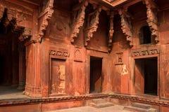 Czerwony fort lokalizujący w Agra, India Obraz Royalty Free