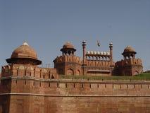 czerwony fort qila lalek fotografia stock