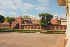 Czerwony fort Unesco światowego dziedzictwa miejsce Obrazy Royalty Free