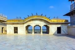 Czerwony fort w Agra, Amar Singh brama, Zdjęcia Royalty Free