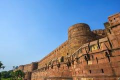 Czerwony fort w Agra, Amar Singh brama, Fotografia Stock