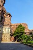 Czerwony fort w Agra, Amar Singh brama, Obrazy Stock