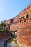 Czerwony fort w Agra, Amar Singh brama, Zdjęcie Stock