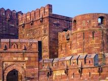 Czerwony fort w Agra, Amar Singh brama, Zdjęcia Stock
