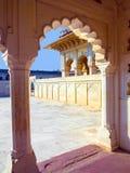 Czerwony fort w Agra, Amar Singh brama, India, Uttar Pradesh Zdjęcia Stock