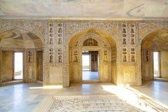 Czerwony fort w Agra, Amar Singh brama, India, Uttar Pradesh Obrazy Stock