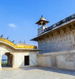Czerwony fort w Agra, Amar Singh brama, India, Uttar Pradesh Obrazy Royalty Free