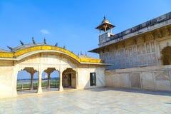 Czerwony fort w Agra, Amar Singh brama, India, Uttar Pradesh Fotografia Stock
