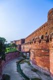 Czerwony fort w Agra, Amar Singh brama, India, Uttar Pradesh Obraz Royalty Free