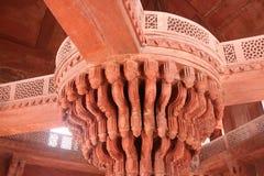 Czerwony fort w Agra, India Zdjęcia Royalty Free