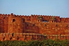 Czerwony fort w Agra, India Zdjęcie Royalty Free