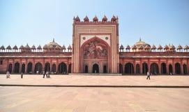 Czerwony fort w Agra, India Zdjęcia Stock