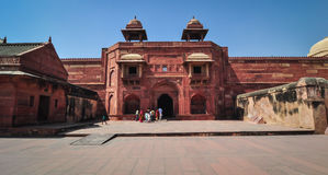 Czerwony fort w Agra, India Zdjęcie Stock