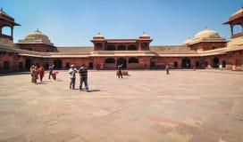 Czerwony fort w Agra, India Obrazy Stock