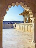 Czerwony fort w Agra, India, światowe dziedzictwo Zdjęcie Royalty Free