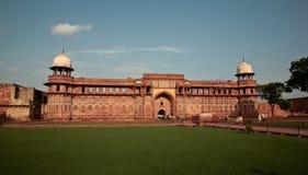 Czerwony fort w Agra pełnych rozmiarów Obrazy Stock