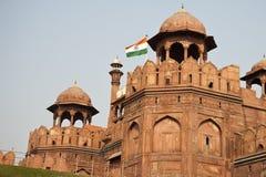 Czerwony fort w Delhi, India Obrazy Stock