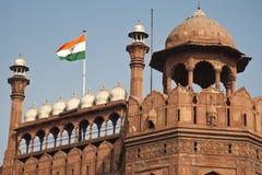 Czerwony fort w Delhi, India Zdjęcia Stock