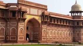Czerwony fortu kompleks w Agra Obrazy Royalty Free