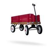 czerwony furgon Zdjęcia Royalty Free