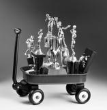 Czerwony furgon trofeum ` s Zdjęcie Royalty Free