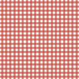 czerwony gingham Fotografia Stock