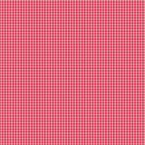 czerwony gingham biel Zdjęcie Stock