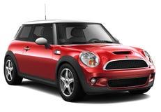Czerwony gospodarka samochód ilustracja wektor