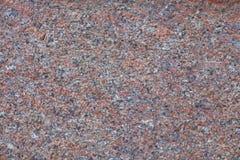 Czerwony granit Zdjęcie Stock
