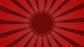Czerwony grundge kreskówki vortex tła illustation Zdjęcia Royalty Free
