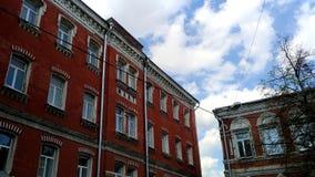 czerwony house Zdjęcia Royalty Free