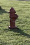 Czerwony hydrant Fotografia Royalty Free