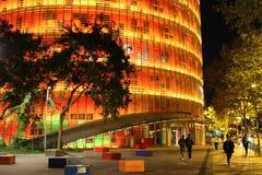 Czerwony i żółty Agbar wierza Zdjęcie Stock