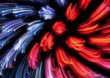 Czerwony i błękitny abstrakcjonistyczny tło fotografia royalty free