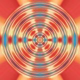 Czerwony i błękitny przędzalniany tło Zdjęcie Royalty Free