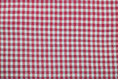 Czerwony i biały chintz Zdjęcia Royalty Free