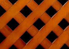 Czerwony i brown drewniany tło Obraz Royalty Free