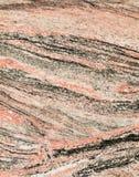 Czerwony i czarny granit Zdjęcia Royalty Free