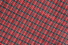 Czerwony i czarny syntetic tło elementy projektu podobieństwo ilustracyjny wektora Obrazy Royalty Free