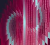Czerwony i Szary złudzenie abstrakta tło ilustracja wektor