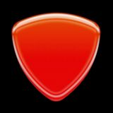 czerwony ikony Fotografia Royalty Free