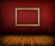 czerwony izbowy rocznik Zdjęcie Stock