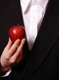 czerwony jabłczana zdjęcie royalty free