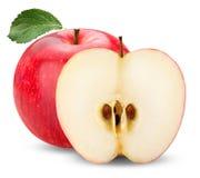 Czerwony jabłko Obrazy Royalty Free