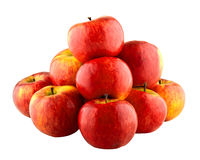 Czerwony jabłko ostrosłup Obrazy Stock