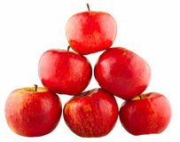 Czerwony jabłko ostrosłup Obraz Royalty Free