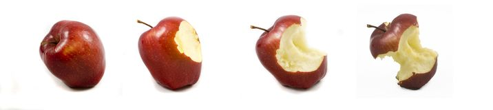czerwony jabłczana zdjęcia stock