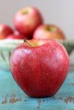 czerwony jabłczana Fotografia Royalty Free