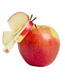Czerwony jabłko. Zdjęcia Stock